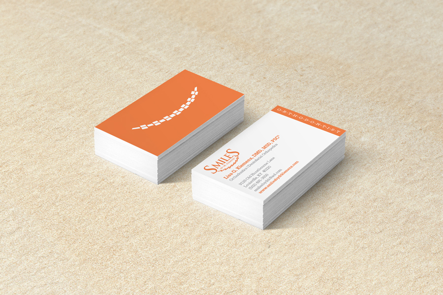 Colorful Orthodontic Business Cards Photo - Business Card Ideas ...